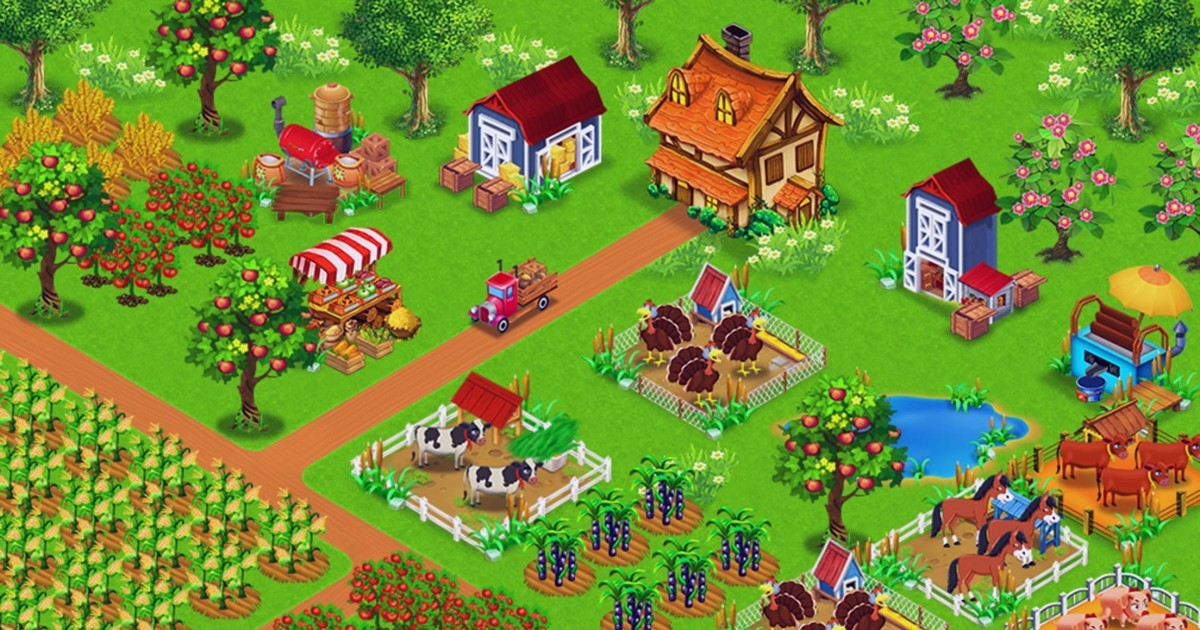 How to advance faster in Big Farm online game