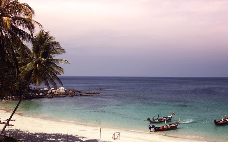 La plage de Patong